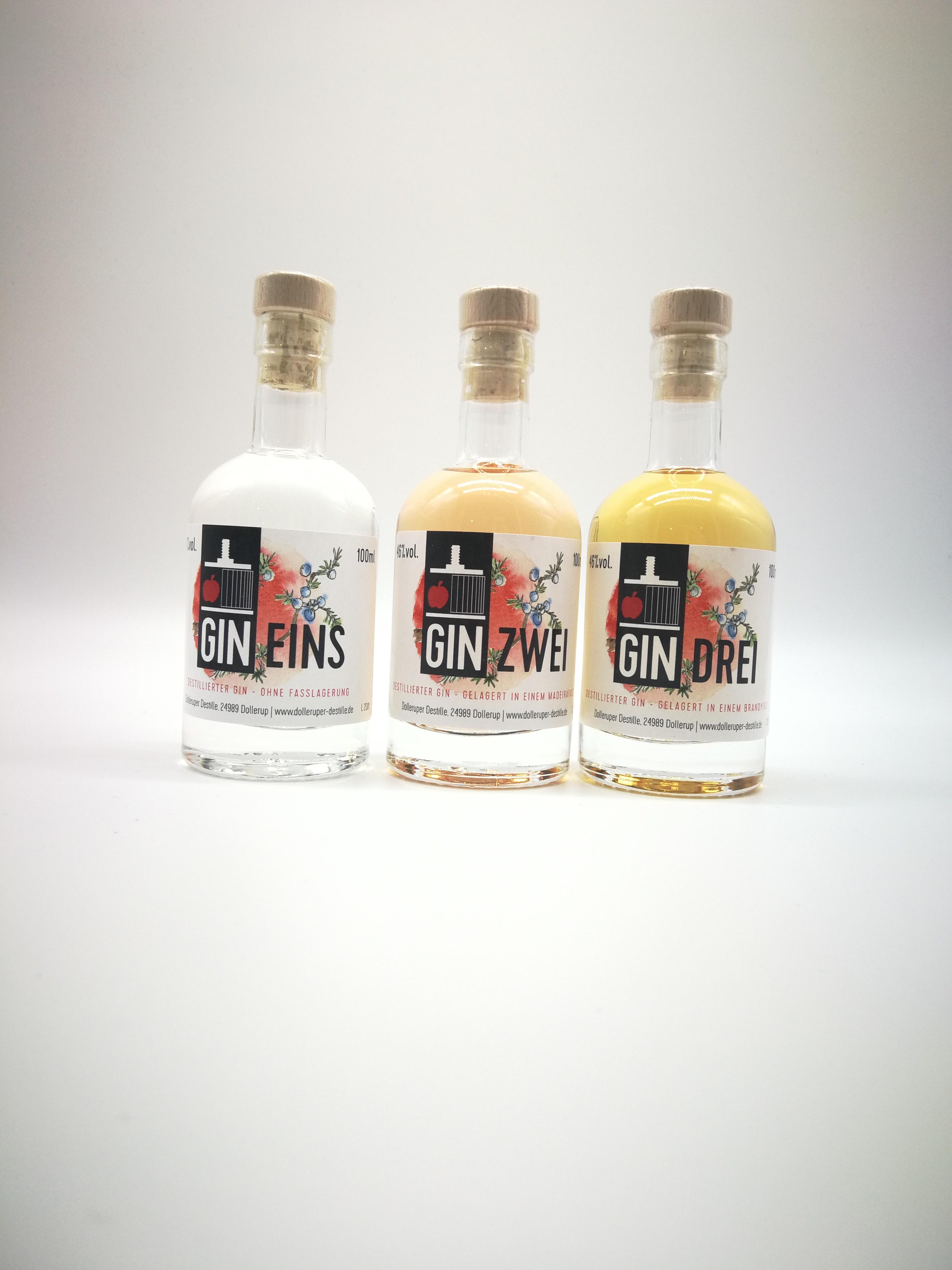 GIN Trio Einzelflaschen